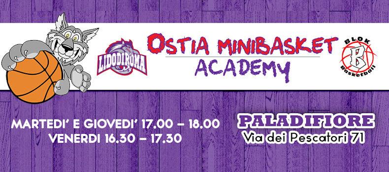 Lido Di Roma minibasket - Ostia Academy
