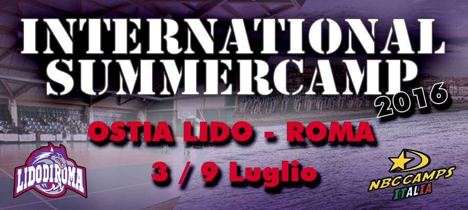International Summer Camp in Ostia