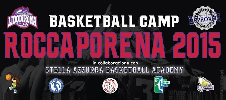 Basketball Camp Roccaporena with Stella Azzurra basketball Academy